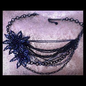 Midnite n Deep Purple Necklace Set